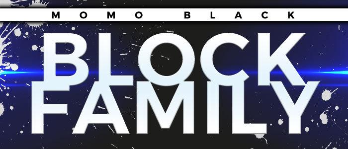 Momo Black - Block Family - Hood Chiller Berlin