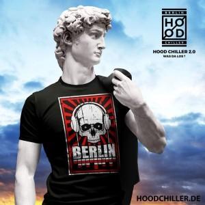 Totenkopf Kopfhörer Hood Chiller Berlin