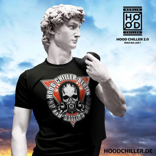 Gasmaske Totenkopf Hood Chiller Berlin