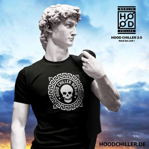 Nero Totenkopf Hood Chiller Berlin